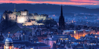 Edinburgh nightscape